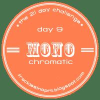 Day 9- Monochromatic