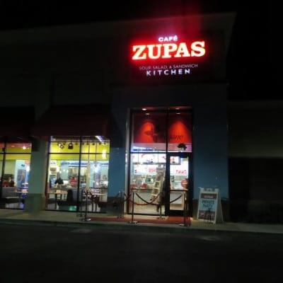Megan and Megan's Night Out at Cafe Zupas