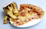 Pier Fries and Alex's Pizza