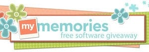 GIVEAWAY- My Memories Digital Scrapbooking Software!