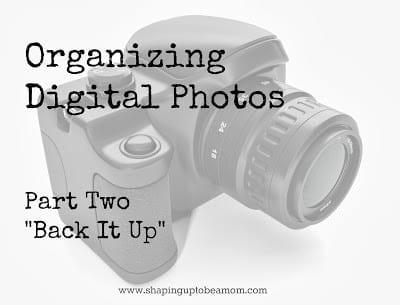 Organizing Digital Photos {part 2}