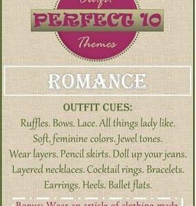 """Rachelle's """"Perfect Ten"""" Challenge"""