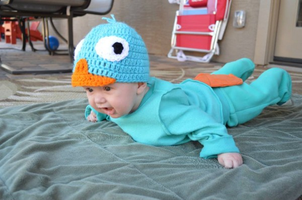 Perry the Platypus Costume2