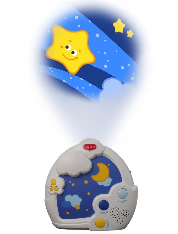 starry night crib projector