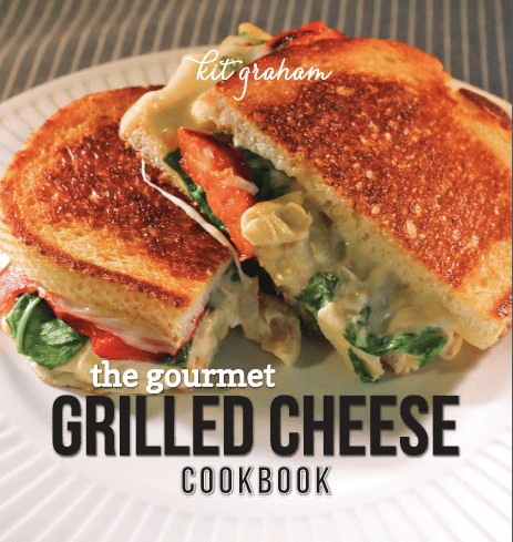 Gourmet Grilled Cheese Cookbook Cover