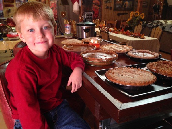 carter with pies