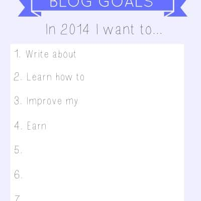 The Ultimate Blog Goals Survey For 2014