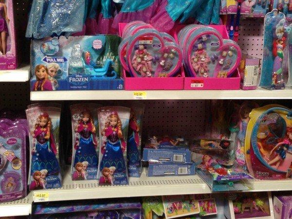 FROZEN Walmart Toys, #FrozenFun, #shop #cbias
