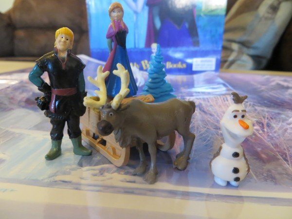 FROZEN busy book characters, #FrozenFun, #shop #cbias