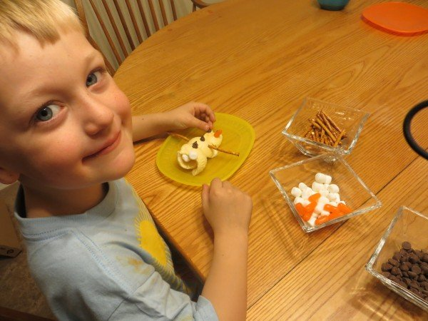 Building an Ice Cream Snowman, #FrozenFun, #shop #cbias