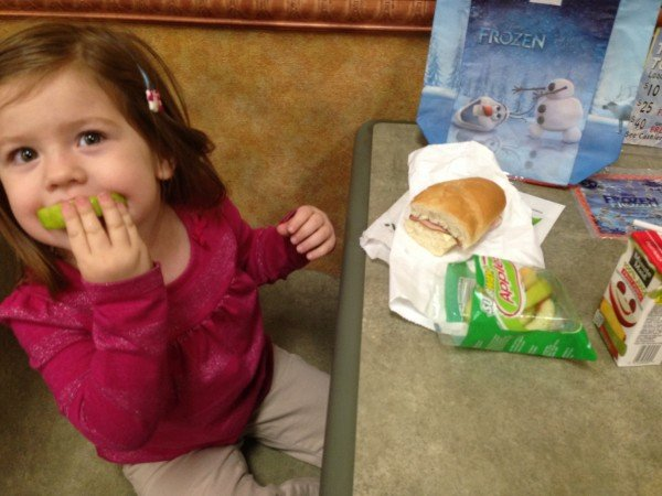 Subway FreshFit Kids Meal, #FrozenFun, #shop #cbias