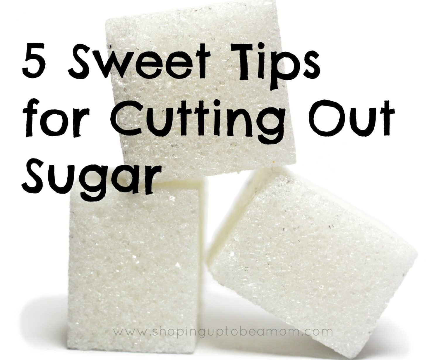 cutting out sugar