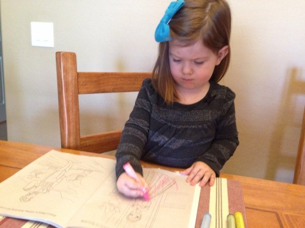 Vanessa coloring
