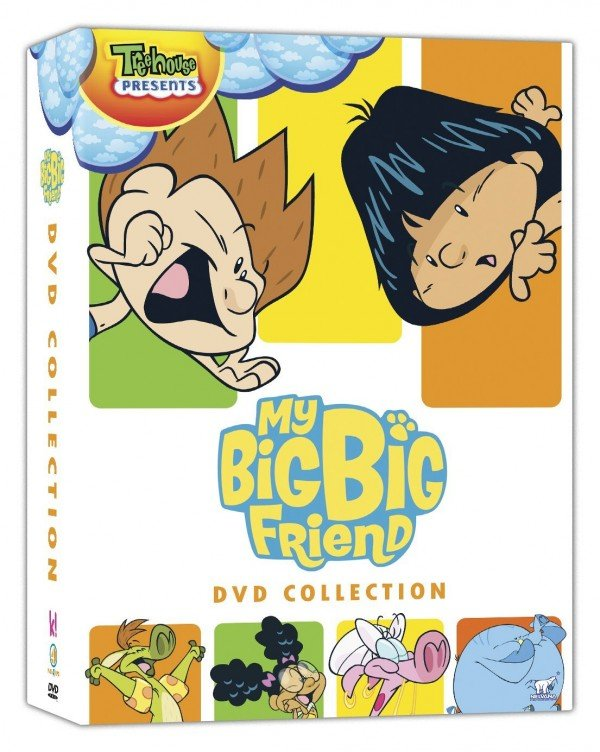 my big big friend dvds