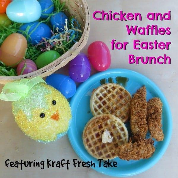 Chicken and Waffles recipe #FreshTake #shop