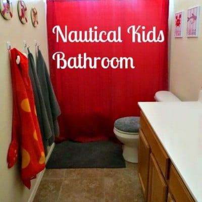 Nautical Kids Bathroom