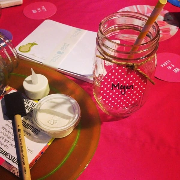 party in a jar craft time