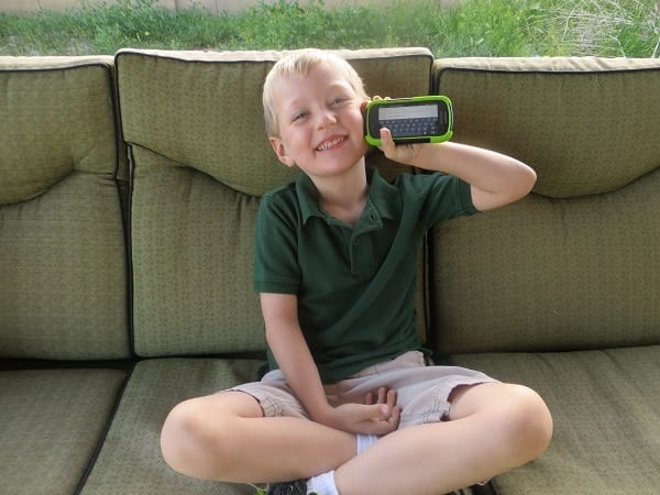 carter-and-his-phone #FamilyMobile #shop