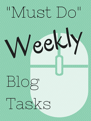 Weekly-Blog-Tasks
