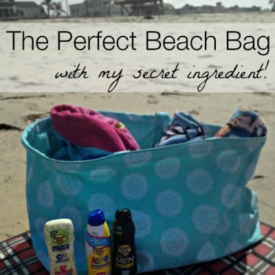 The Perfect Beach Bag featuring Banana Boat Sunscreen