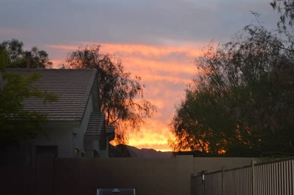 Phoenix sunset #BalanceRewards #shop