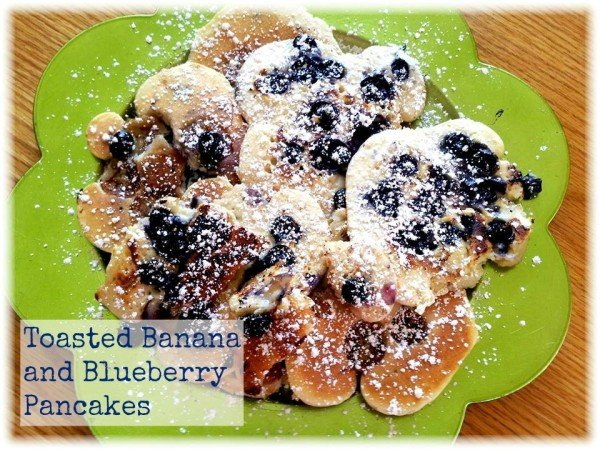 Toasted-Banana-and-Blueberry-Pancakes