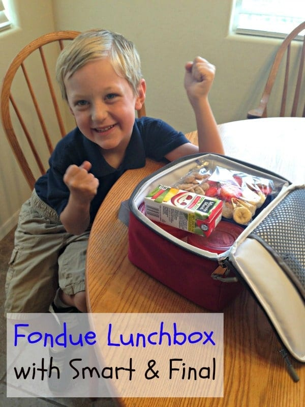 Fondue Lunchbox Recipe #ChooseSmart #shop