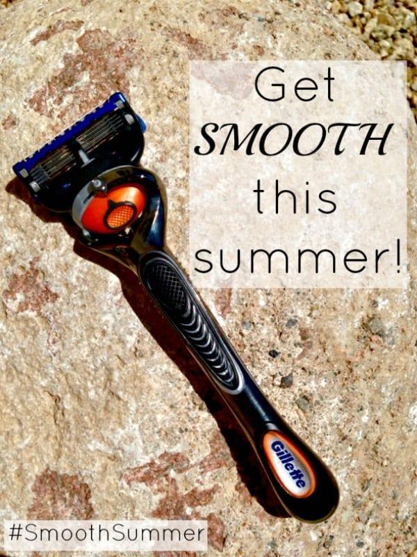 Have a #SmoothSummer with the Gillette Flexball Razor! #shop #cbias