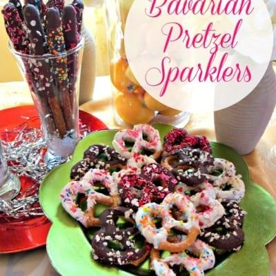 Bavarian Mini Pretzel Recipe: Chocolate-Dipped Sparklers