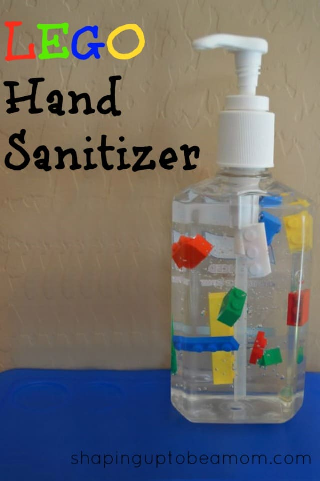 LEGO Party Ideas: LEGO Hand Sanitizer