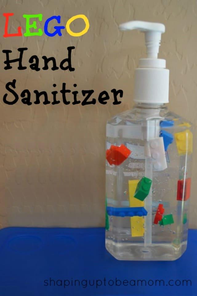 LEGO Party Ideas: LEGO Hand Sanitizer