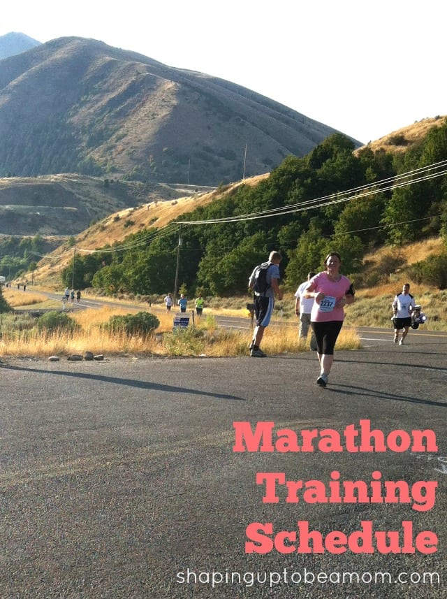 marathon-training-schedule