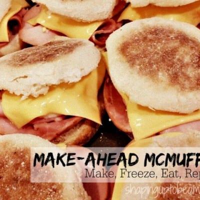 Grab 'n Go Freezer Egg McMuffin Sandwiches