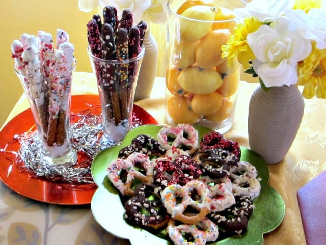 Gorgeous Pretzel Sparklers Recipe