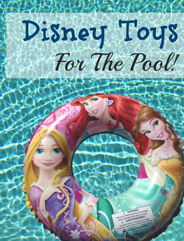Disney Toys For The Pool