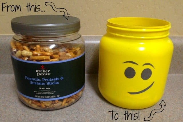 How To Make A Lego Head Jar