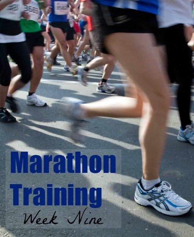 Marathon Training Week 9