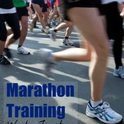 Marathon Training Week 14: Let The Taper Begin!