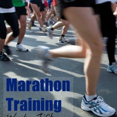 Marathon Training Week 15: Get Ready, Get Set…