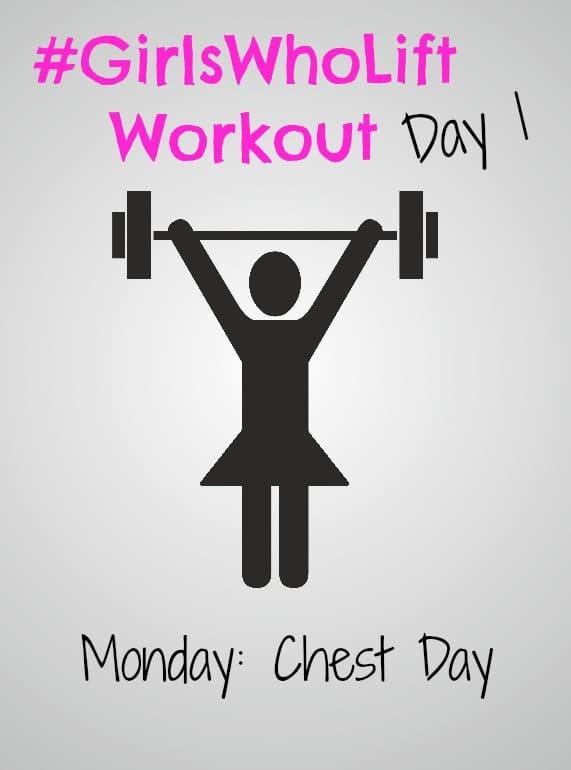 #GirlsWhoLift Workout Day 1