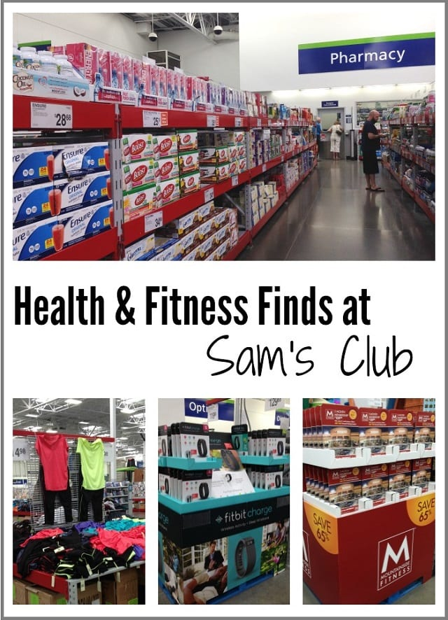 Health and Fitness Finds at Sam's Club