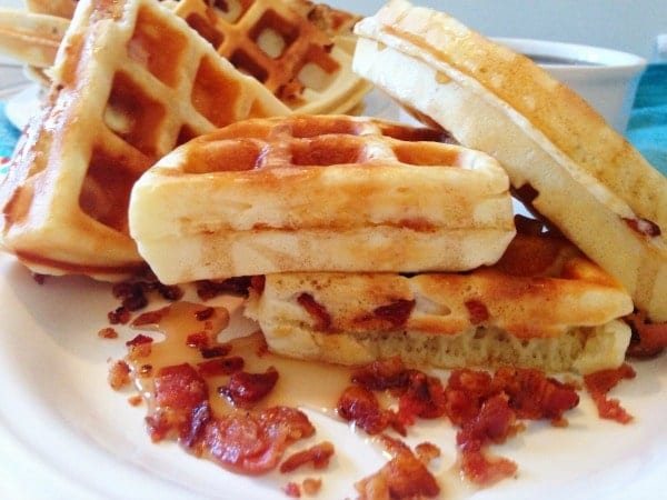 Homemade-Maple-Bacon-Waffles