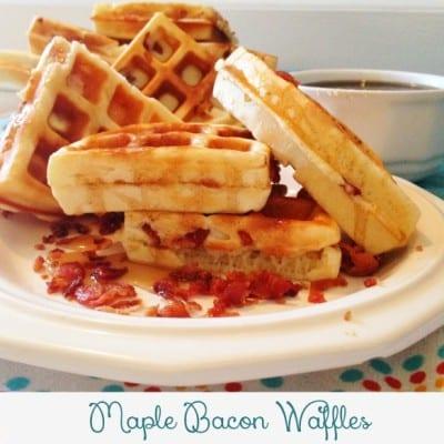 Maple Bacon Waffles Recipe