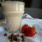 chocolate-covered-strawberry-protein-shake