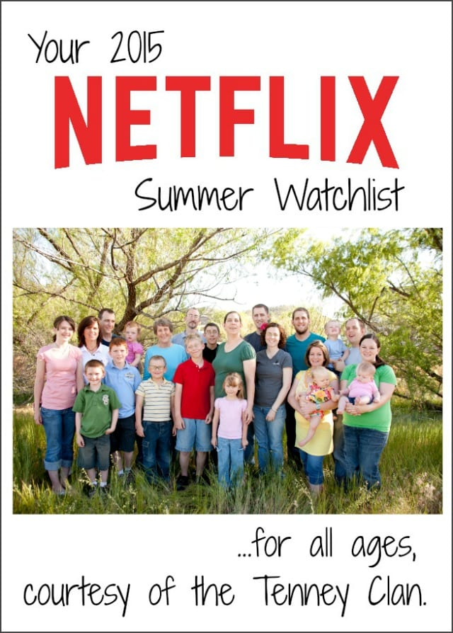 Netflix Summer Watchlist #StreamTeam