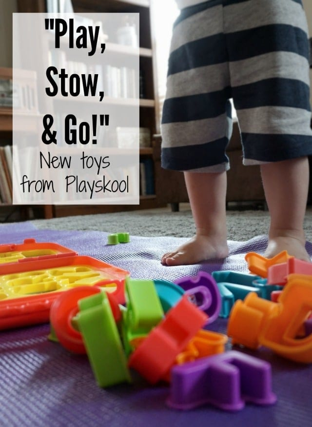 Playskool Play Stow and Go Toys