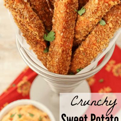Crunchy Sweet Potato Fries Recipe
