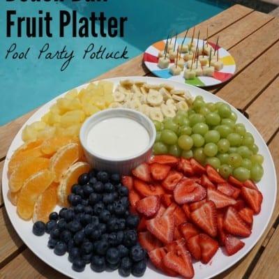 Beach Ball Fruit Platter Recipe