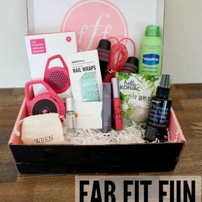 FabFitFun Subscription Box Review
