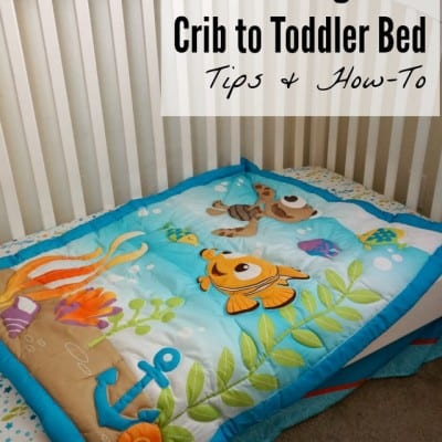 Transitioning to a Toddler Bed with Disney Baby